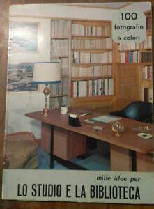 1973 ARREDAMENTI VINTAGE, DESIGN DI STUDI E BIBLIOTECHE PER LE CASE. ILLUSTRATO