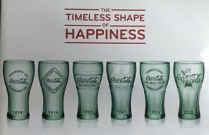 19c8d7cab425ce Image is loading NEW-COCA-COLA-MCDONALDS-COLLECTIBLE-COKE-GLASS-GLASSES-