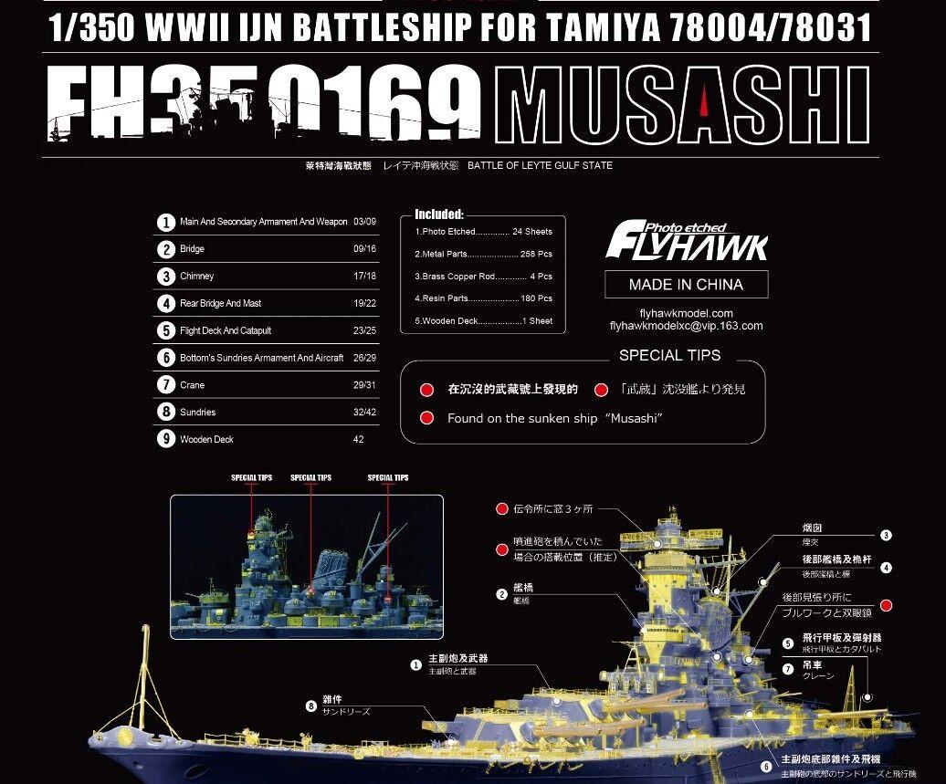 FH350169 1  350 IJN Musashi för Tamiya