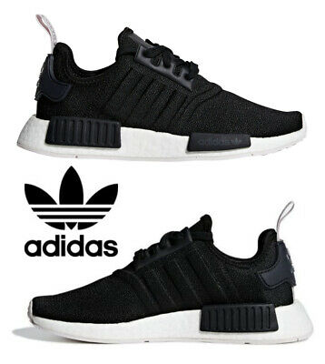 adidas originals nmd_r1 women's black