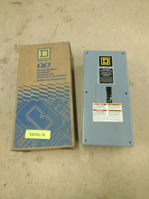 Square D Type1 3P 100A Circut Breaker Enclosers QO3100BNS