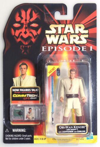 1999 ESZ1611 Star Wars Episode I OBI-WAN KENOBI action figure Hasbro ^
