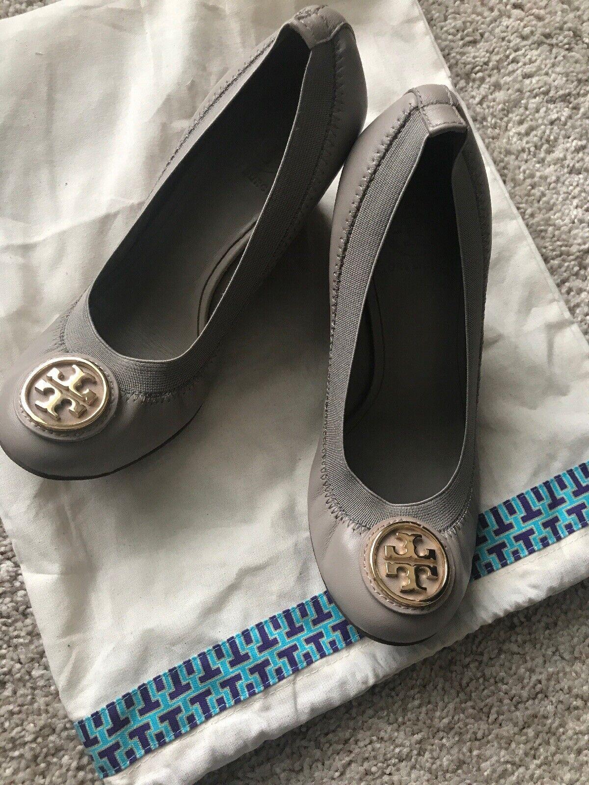 in vendita Authentic Tory Burch Reva Reva Reva Wedges scarpe Heels Dimensione 6  Garanzia del prezzo al 100%