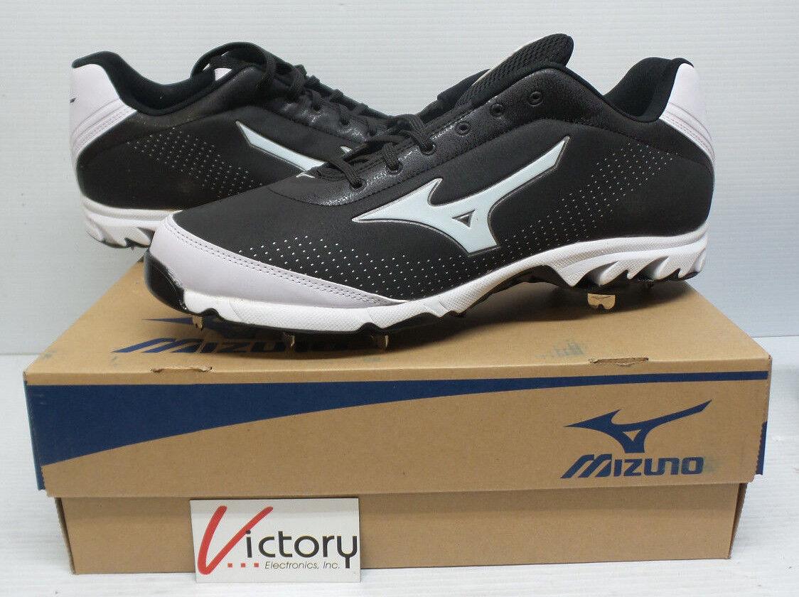 Nuevo Mizuno 9 spike Vapor Elite 7  Negro blancoo 320443.9000 para hombres talla 14 Béisbol  tienda