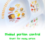 thumbnail 4 - Kid's Healthy Learning Plate | Divided Portion Control for Toddlers & Children |