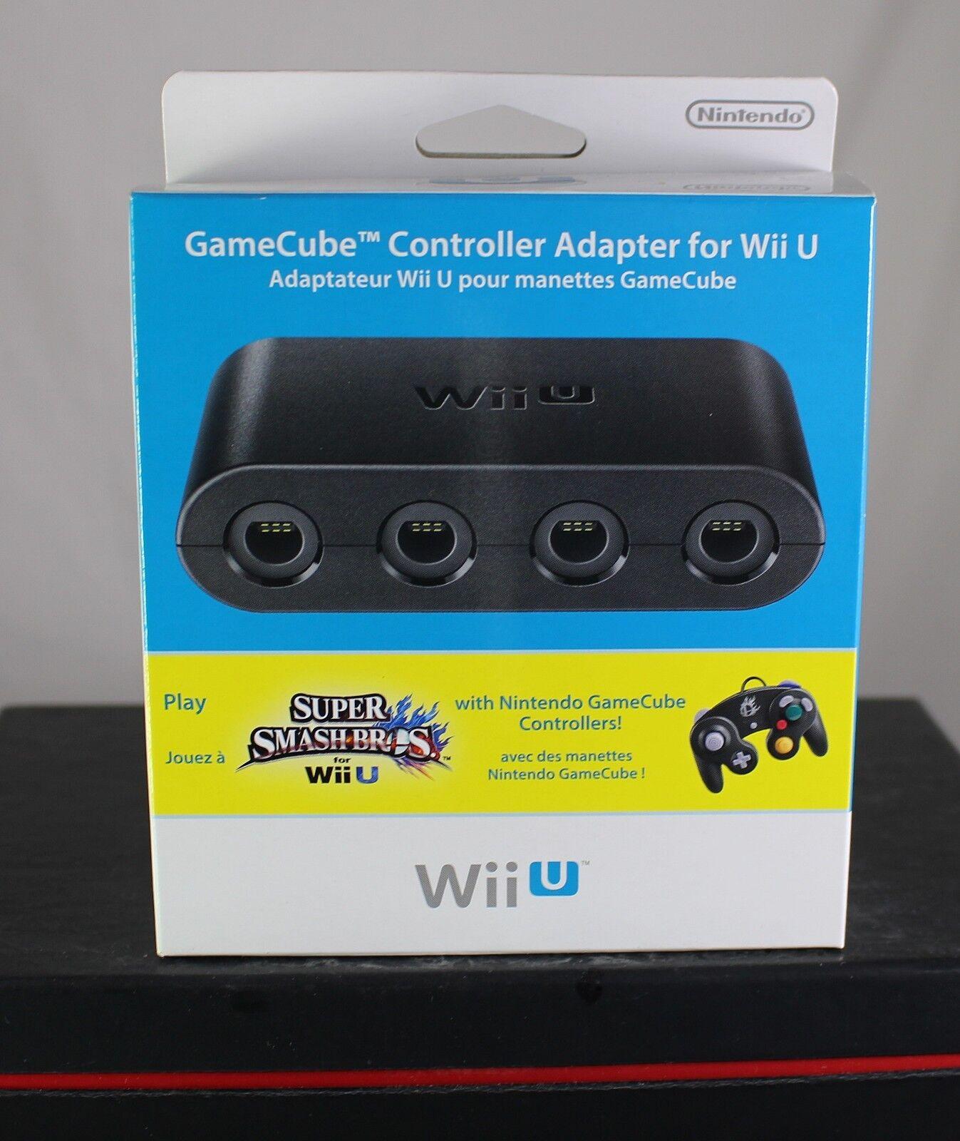 offiziell Nintendo Wii U GameCube Controller Adapter