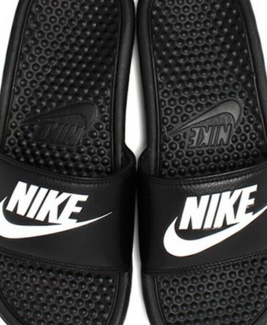 nuove nike uomini diapositive diapositive diapositive benassi jdi pantofole bianco nero 12 | Qualità Eccellente  | Maschio/Ragazze Scarpa  730d66