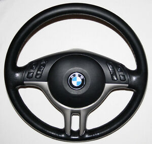 bmw 3 series e46 sport steering wheel and airbag e39 m. Black Bedroom Furniture Sets. Home Design Ideas