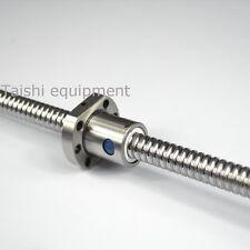 1pc Lead ball screw 20mm anti backlash RM2005-400mm-C7+ball nut+end machine CNC