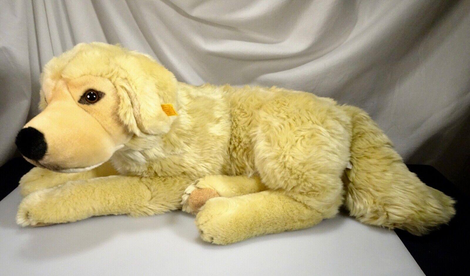 Steiff Groß Golden Retriever Plüschtier Hund 19   Neu  668838 - 56485