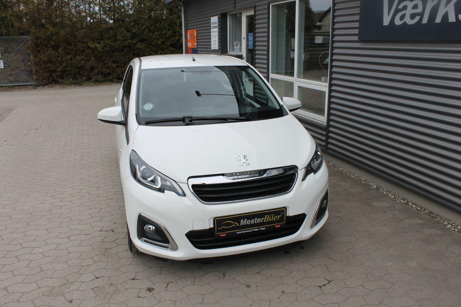 Peugeot 108 1,0 e-VTi 69 More+ 5d - 59.800 kr.