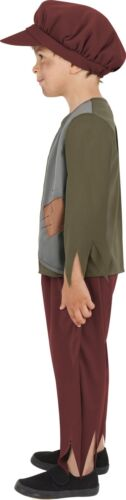 Boys Victorian Poor Boy Child Book Day Week Fancy Dress Costume Outfit