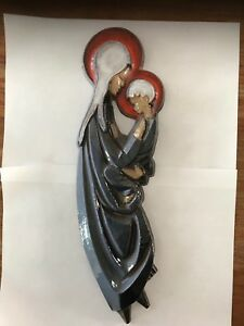 Maria-Ceramic-Art-Tile-Mid-Century-Pottery-Amfora-Perignem-Modernist-Tieberghien