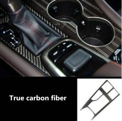 Carbon fiber Inner Gear Shift Frame Cover Trim For Lexus RX200t 450h 2016-2019