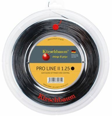 (0,38 €/m) Kirschbaum Pro Line Ii 200 M Corde Tennis- Materiali Superiori
