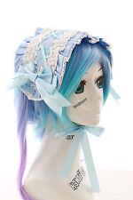 LH-05-1 Blau Schleife Maid Haarband Kopfschmuck Gothic Lolita Headband Cosplay