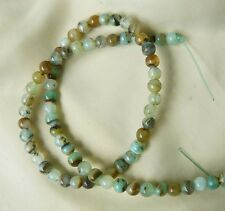 """PERUVIAN BLUE OPAL Beads 6MM round natural Varied colors gemstone 15 3/4"""""""