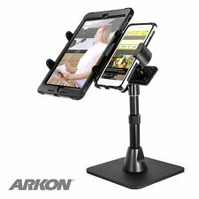TWBHD8TAB: ARKON TW Tablet & Phone Desk Stand for Live Mobile Broadcasting