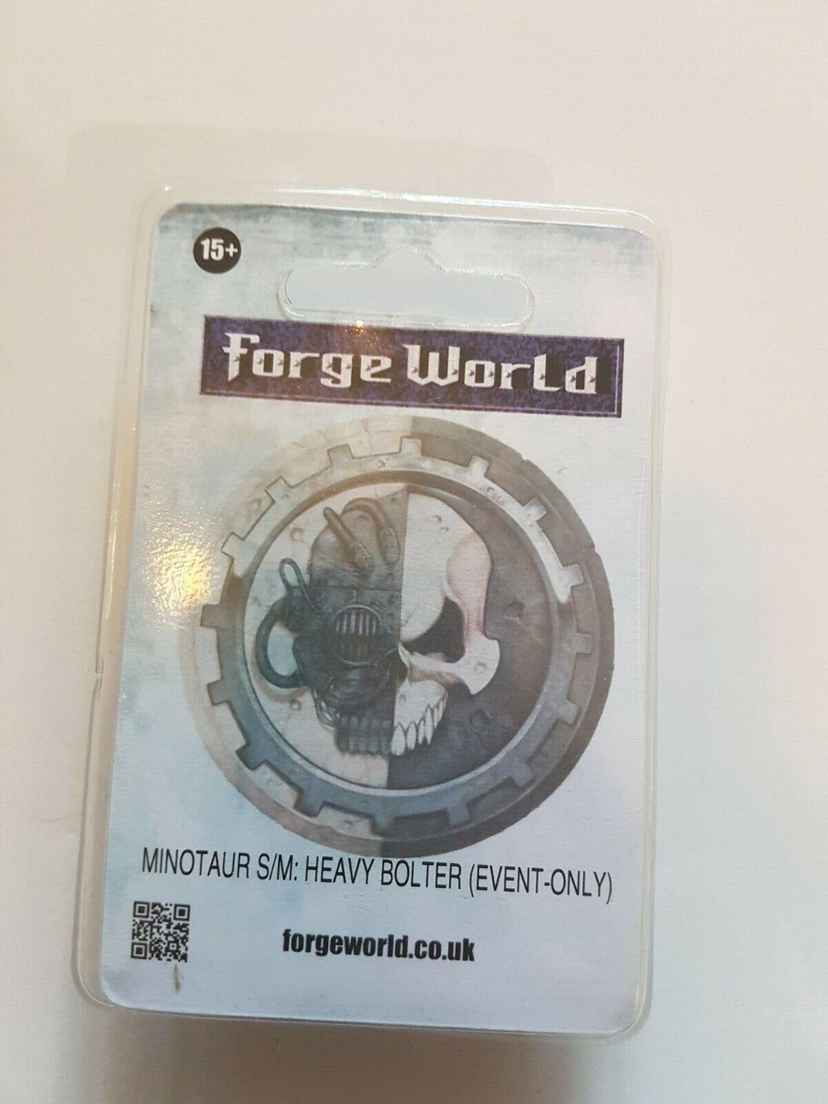 WARHAMMER 40k Forge World MINOTAURO spazio MARINE pesante  rivestimento adesivo evento solo Ltd  all'ingrosso a buon mercato