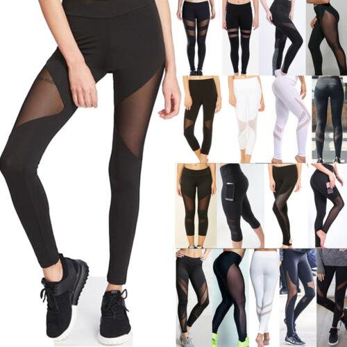 Women/'s Sports Yoga Workout Gym Fitness Leggings Pants Jumpsuit Athletic Wear20