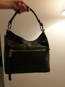 Damen Original Schwarz Zu Abro Details Leder Neu Tasche rBdxeCo