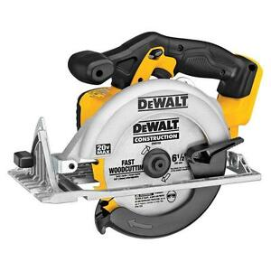 DEWALT DCS391B 20V MAX Li-Ion 6-1/2in Cordless Circular Saw (Tool Only)