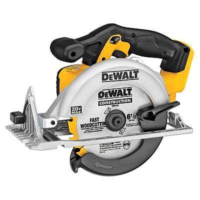 DEWALT 20V MAX Li-Ion 6-1/2in Cordless Circular Saw