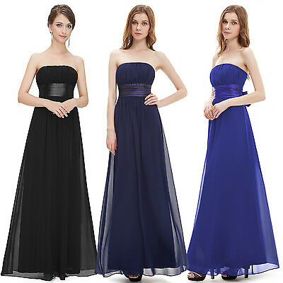 Ever Pretty Long Sexy Sleeveless Prom Evening Party Bridesmaid Dress 09060