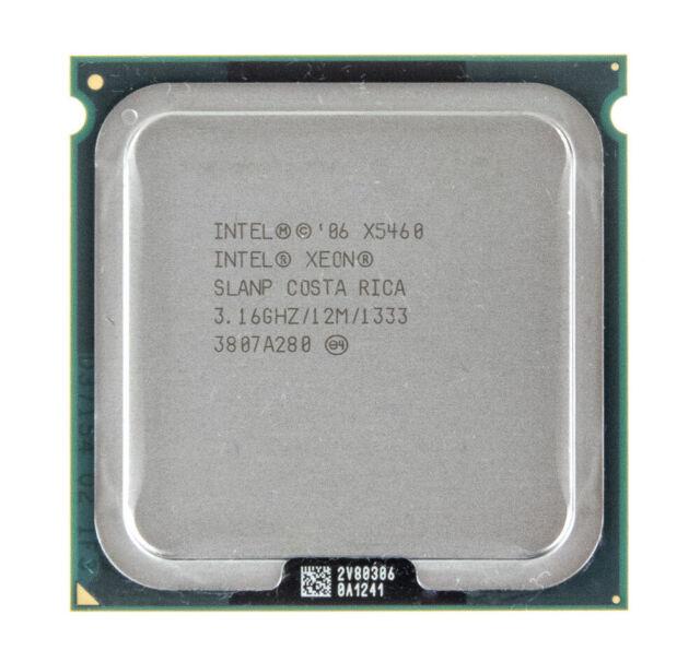 LGA 771 CPU Free shipping Intel Xeon X5460 3.16 GHz Quad-Core SLBBA//SLANP
