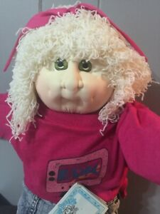 1988-Soft-Sculpture-Cabbage-Patch-Kid-Hand-Signed-Lora-Wendy