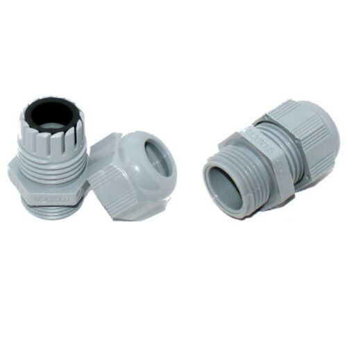 10 x 6-12mm Nylon Cable Glands IP68 Compression Glands QualityBrand