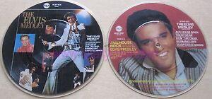 EX-EX-The-Elvis-Medley-Jailhouse-Rock-RCAP-1080-Presley-7-034-Vinyl-Picture-Disc