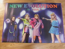 2NE1 - LIVE NEW EVOLUTION IN SEOUL DVD [ORIGINAL POSTER] *NEW* K-POP
