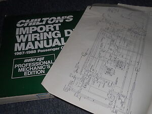 image is loading 1987-subaru-justy-oversized-wiring-diagrams -schematics-manual-