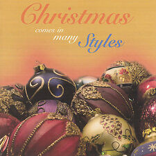 FREE US SHIP. on ANY 2 CDs! NEW CD Christmas Comes in Many Styles: Christmas Com