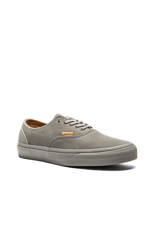 Vans Era Decon CA Mono Leather  gris  frost rubber VN0OX1GJQ ASO Kristen Stewart