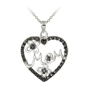 Treated-Black-Diamond-Accent-Mom-Heart-Necklace-in-Sterling-Silver