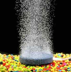 Aquarium-Fish-Tank-Round-Air-Pump-Bubble-Disk-Circle-Stone-Hydroponics-Oxygen-US