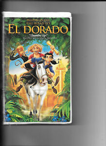 The-Road-to-El-Dorado-VHS-2000-Clam-Shell