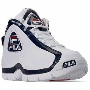 Detalles de Fila Para Hombre 96 Grant Hill Retro Calzado De Baloncesto Blanco Azul Marino Rojo 1BM00569 125 ver título original