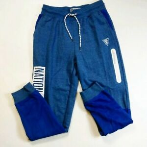 Parish-nation-100-AUTHENTIC-mens-size-medium-drawstring-jogger-pants-blue