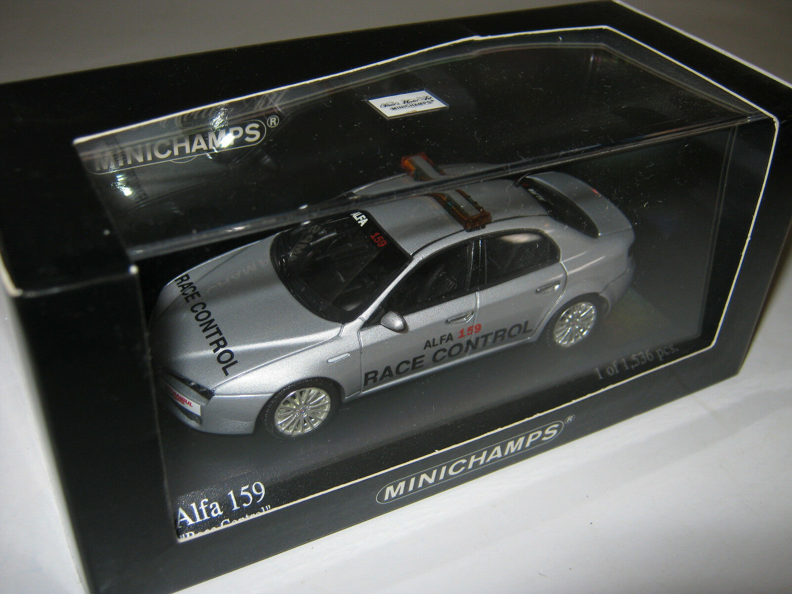 1 43 ALFA ROMEO 159 2006  Race Controll Minichamps 400120590 OVP new 1 of 1536  | Queensland