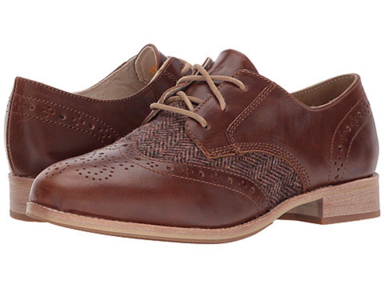 CATERPILLAR P309700 REEGAN Leather II Wmn's (M) Brown/Sugar  Leather REEGAN Oxford Shoes 3eb495