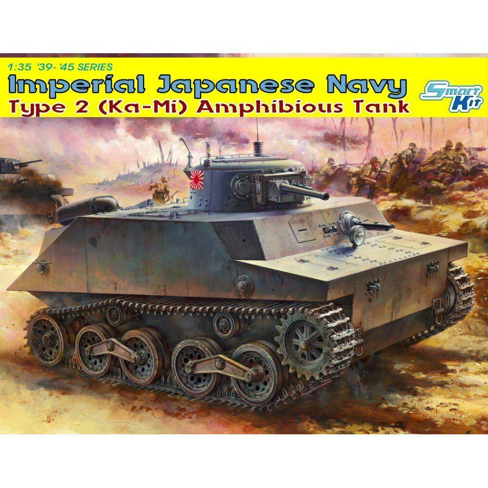 Dragon 6678 IJN Type 2 KaMi Amphibious Tank Combat Mode 1 35 scale kit