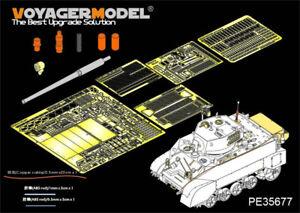 Voyager-PE35677-1-35-WWII-M3A3-Stuart-Light-Tank-Detail-Set-for-AFV-Club-AF35053