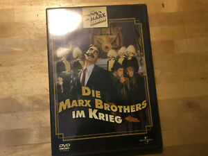 Die-Marx-Brothers-im-Krieg-DVD-Groucho-Marx-Harpo-Chico-1933-Duck-Soup