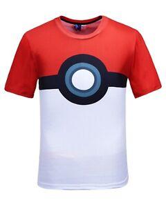 Pokeball-Costume-T-shirt-All-Over-Print-Imprime-Pokemon-Costume-Fancy-Dress-Tee