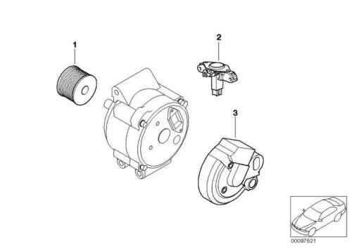 Original Mini 12317512170 Riemenscheibe Generator