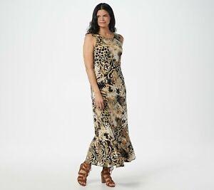 Attitudes-by-Renee-Como-Jersey-Printed-Godet-Maxi-Dress-Multi-M-A353267