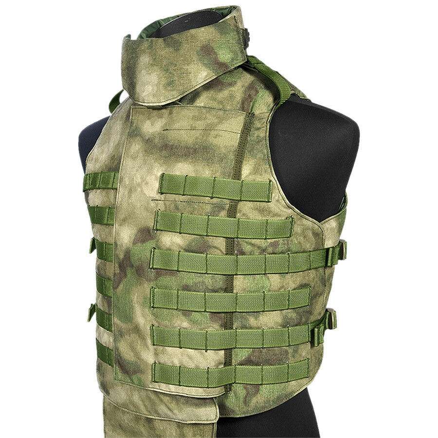 FLYYE EXTERNE MOLLE TACTICAL VEST MILITAIRE COMBAT AIRSOFT AIRSOFT COMBAT SANGLE A-TACS FG CAMO 871b4f